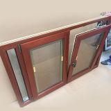Le propriétaire a fait le tissu pour rideaux en aluminium en bois Windows pour le propriétaire des Caraïbes