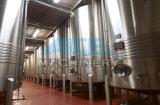Cuve de fermentation de vin d'acier inoxydable, fermenteur conique 10 barils