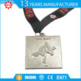 Medaglia d'argento resa personale della sagola 3D di Sublimited