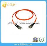 FC/Upc-FC/UpcシンプレックスシングルモードG652Dのファイバーのパッチ・コード
