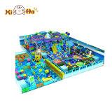 L'horizontal bon marché de cour de jeu de jardin d'enfants structure le matériel