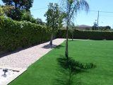 Crear sensación suave y cómodo, hierba del jardín de Wm