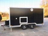 Camion di rimorchio mobile standard dell'alimento di vetro di fibra dell'Australia con il generatore elettrico della Honda