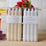 Kundenspezifische Kirche-fromme weiße Flöte-Kerzen gebildet durch Paraffinwachs