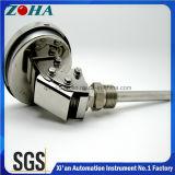 tipo universale termometro bimetallico del diametro di 100mm