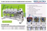 Happy Embroidery Machine Vente 15 aiguilles Holiauma Machine à broder 4 tête 1501 Meilleure Machine à broder de promotion et de vendre le nouveau modèle une grande poignée facile