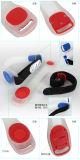 Braccialetto promozionale del silicone dei Wristbands di incandescenza LED per funzionamento di notte