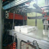 servomotor acionada na moldagem de plástico de corte máquina de fazer da Tampa