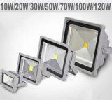 Venda a quente de elevada potência de alta qualidade Holofote LED Branco Frio 10W-100W