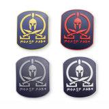 Aucun minimum de vêtements tactique 3D le moral en caoutchouc de silicone souple PVC patch correctifs du logo personnalisé