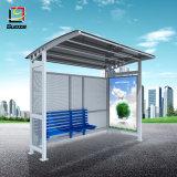 L'aluminium abris bus arrêt de bus de la publicité de plein air Boîte à lumière
