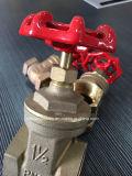 Pn16 / Pn25 Aparafusado Bronze Válvula gaveta de Água