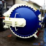 1000x1500mm Vulcanizating Borracha Fábrica Autoclave com marcação CE/Certificado PED