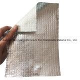 耐火性の熱絶縁体のアルミホイルの支持されたガラス繊維の布