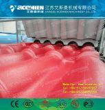 Vitrage de résine synthétique/Bamboo Feuille de toit de la machine