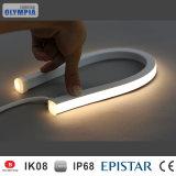 IP68 raffreddano la striscia al neon flessibile di bianco 3528 SMD LED