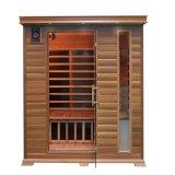 Cabina de infrarrojos Canadá la cicuta Home sala de sauna para 2 personas