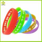 Силиконовый репеллент от комаров браслет моды красочные Custom силиконового герметика Band силиконовый браслет