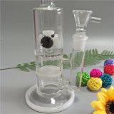Qualitäts-Glasrohr-Glaspfeife-Glaswasser-Rohr mit Honig-Kamm-kleiner Turbine Perc und 5 (GB-271)