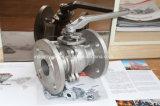 Ss/CS Clase 150 / 300 extremo de la brida Válvula de bola de Split