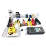 Instalación de terminales de fibra óptica FTTH/limpiadora Cleaver