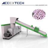 Granulator van het Recycling van de Vezel van het Gezicht van de matrijs de Hete Scherpe Nylon Plastic