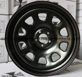 Daytona Roue en acier noir 16X8 15X8.0 15X10 15X12 16X7.0 16X12 17X8.0