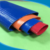 Mangueira Plana Leigos plásticos de PVC flexível de borracha do tubo de jardim de irrigação de água