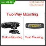 Montaje a ras de luz LED de conducción de carretillas y el trabajo