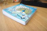 Изготовленный на заказ книга тренировки книга в твердой обложке студента тетради поставкы школы A4 A5 бумажная