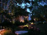 A iluminação LED de exterior de latão super brilhante Jardim Spotlight IP65
