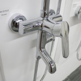 Conjunto moderno de la ducha del grifo