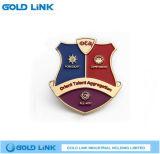 Artes modificados para requisitos particulares de la solapa de la policía del emblema de la escuela de la divisa del metal