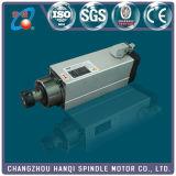 шпиндель CNC 3.5kw 300Hz 18000rpm Er25 квадратным охлаженный воздухом (GDF46-18Z/3.5)