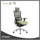 Plástico de malla PU Silla de oficina con una alta silla de espuma de molde