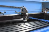 Máquina de corte por láser de CO2 de grabado no metal materiales acrílicos, espuma, plástico