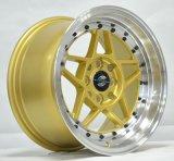 Het gouden legeringswiel vossen wiel