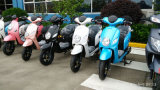 Blaue Mädchen-elektrischer Roller, leistungsfähige Mädchen-elektrisches Motorrad