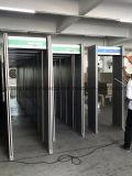 Caminata de zona única a través de puerta de detector de metal Caminata a través de puerta de control de cuerpo