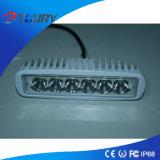 LED自動ランプ18W SUV LEDの前部運転作業ライト