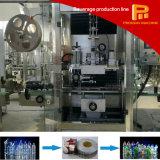Einfache Geschäfts-Haustier-Flasche Kurbelgehäuse-Belüftungshrink-Hülsen-beschriftengerät