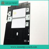 Bandeja de cartão do PVC da impressão de tinta para a impressora de Epson R285