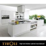 2017 кухонных шкафов кухни нового способа самомоднейших белых для домашней нестандартной конструкции Tivo-0145h Furniturer