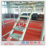 Q235 Échelles en acier pour les ouvriers sur la construction d'échafaudages
