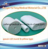 Rullo medico 4ply della garza del cotone con o senza i raggi X