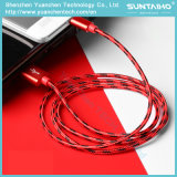 Cable de carga del metal para el cable del USB del cargador de Samsung