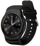La montre intelligente Reloj de Bluetooth de G3 initial du numéro 1 pour la fréquence cardiaque sèche IP67 de montre de téléphone androïde d'OIN de Samsung HTC d'iPhone imperméabilisent la couleur noire