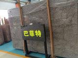 フロアーリングデザインのためのイタリアBuffettの灰色の大理石の平板