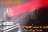 LED Hawk Eye 22X30W RGBW 4in1 Bee Eye Moving Head