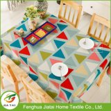 Cuatom Home Contemporary Polyester Pattern Printed Dining Tablecloth